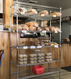 The bakery offerings
