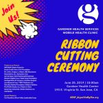 6/20/19 – Mobile Health Clinic Ribbon Cutting