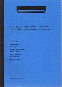 Theatre d Objets Corps et Objet Blue report 6 m