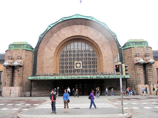 gare centrale de Helsinki