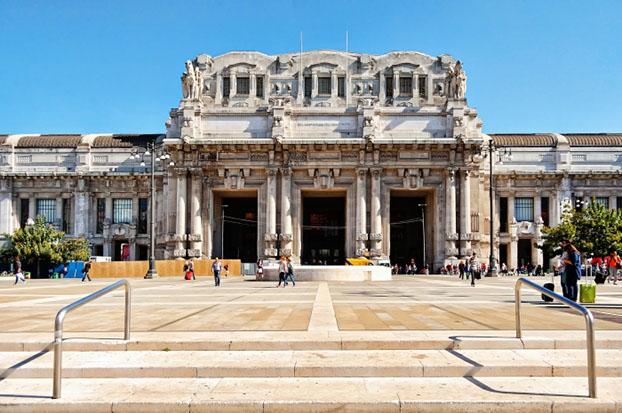 gare centrale de Milan