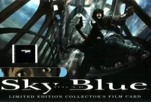 Sky Blue Film Card