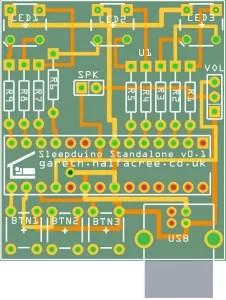 Standalone Sleepduino PCB