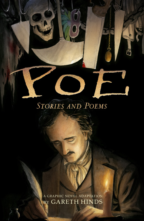 Image result for edgar allan poe gareth hinds
