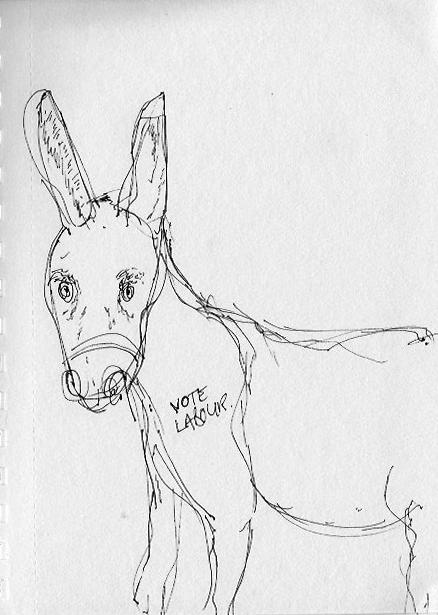Donkey tatto June 17