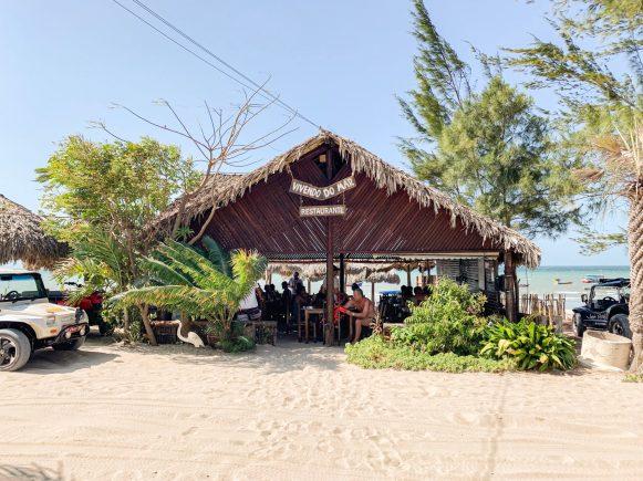 passeio leste jericoacoara restaurante praia do preá