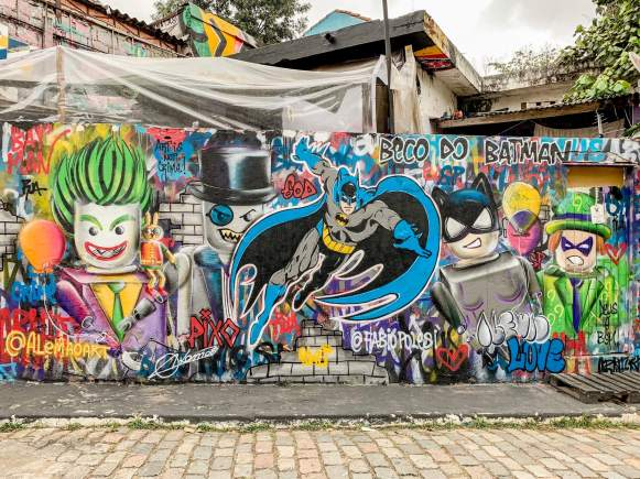 beco batman foto