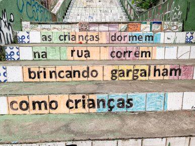 mensagens escadaria patapio