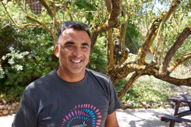 Petros Markatonatos, winemaker at Gentilini.
