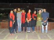 the german actors we met at bharat bhawan :)