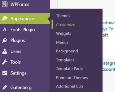 how to add custom css in wordpress, what is custom css in WordPress, what are WordPress plugins, theme customizer in wordpress