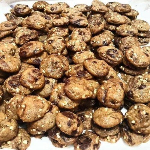 Chewy Chocolate Chip Cookies ala Subway Yang Sedap