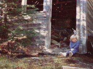 Kylen Sharpe at Garland in 1988
