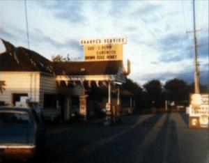 Sharpe's Service in Goldbar WA - Circa 1973