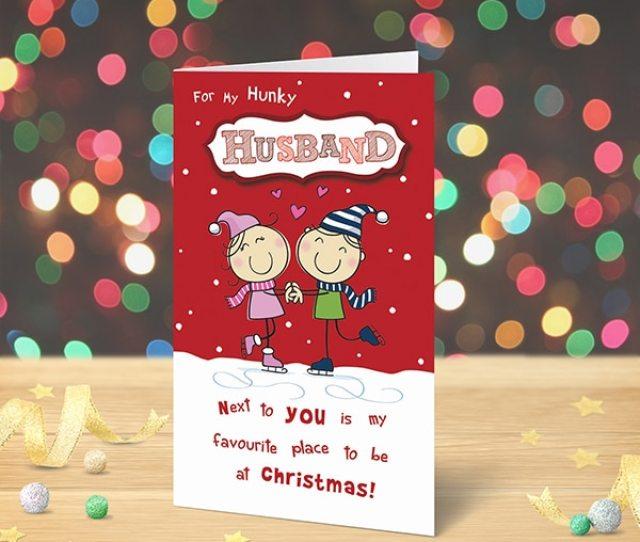 Christmas Card Husband