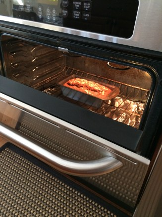 Let it cook in the oven with the door open for 30 minutes...