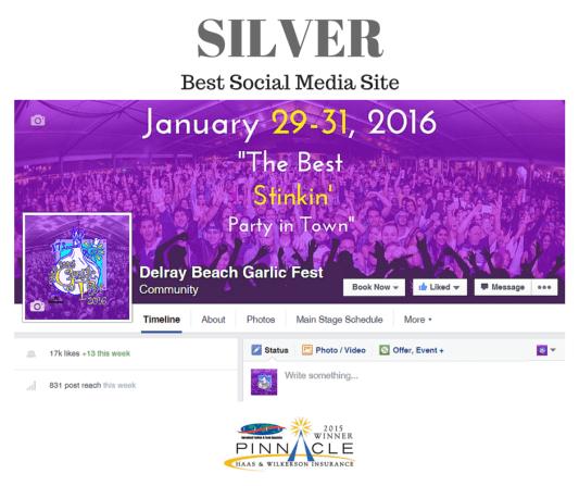 Silver - Best Social Media Site - GF