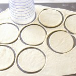 Cutting Circles in Pierogi Dough_