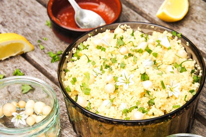 Couscous Salad with Lemon Chutney