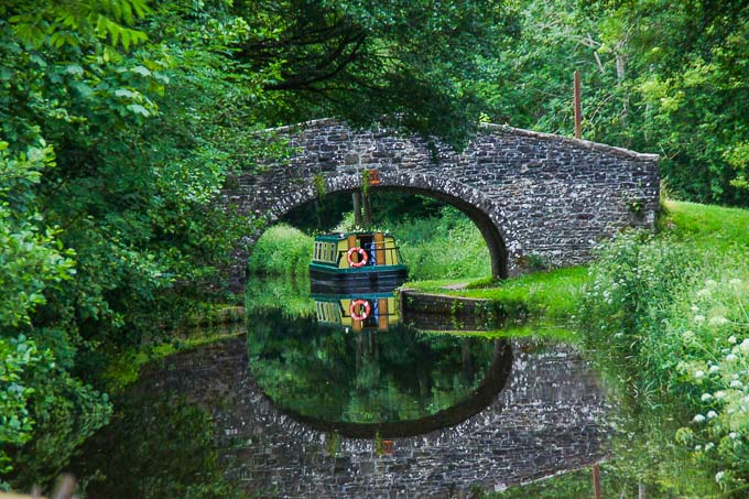Canal Bridge in Wales