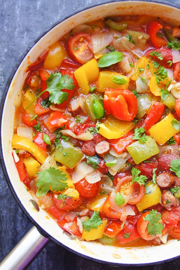 Hungarian Pepper Stew