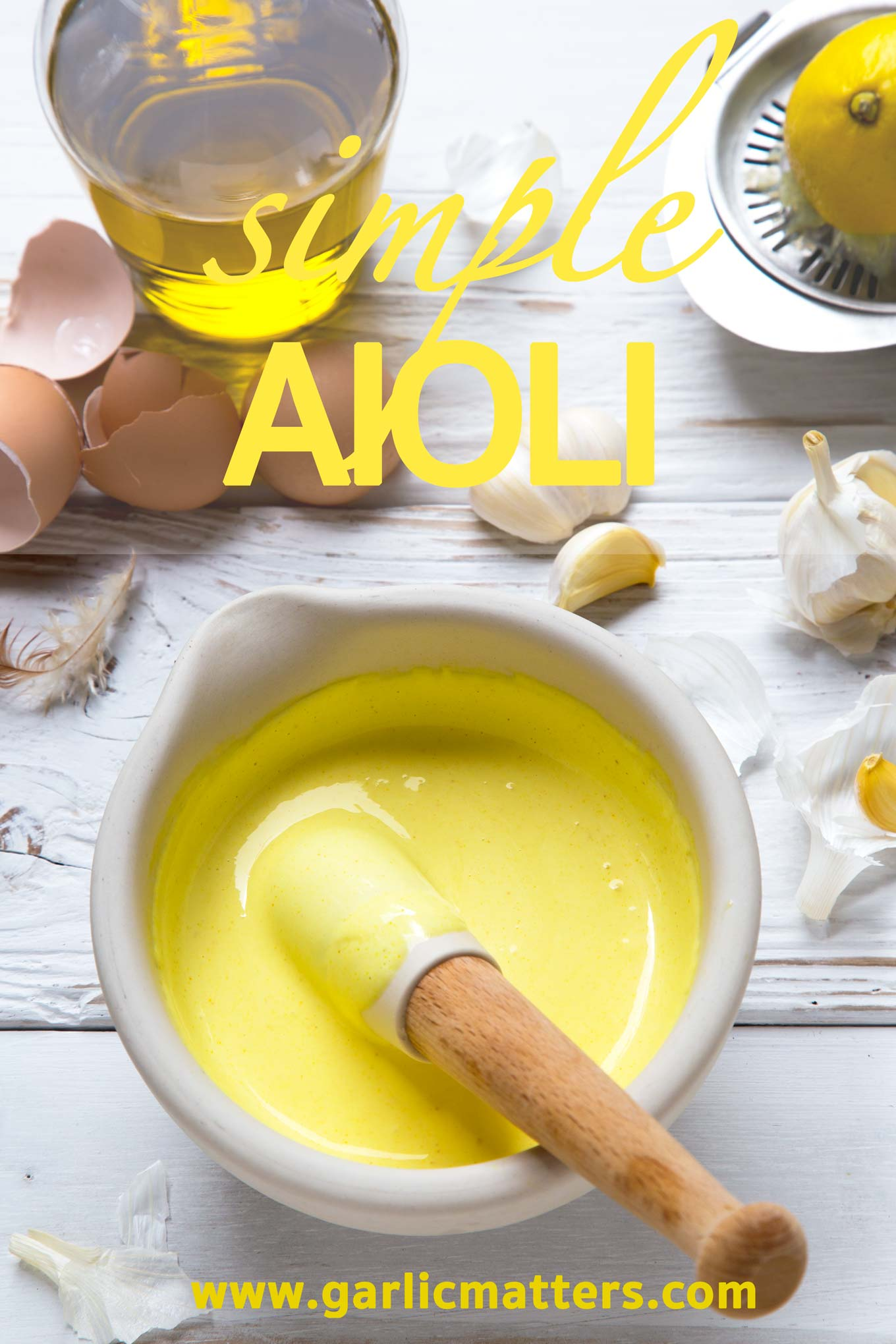 Freshly made aioli can really complement any seafood or vegetable dish. This easy, 15 min recipe works also as a dip or sauce for burgers.