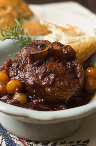 Osso Bucco Recipe from Monica Bennett - Valentine's Day Dinner Recipes