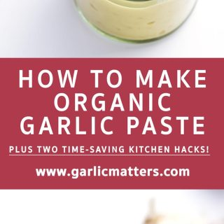 HOW TO MAKE GARLIC PASTE AT HOME
