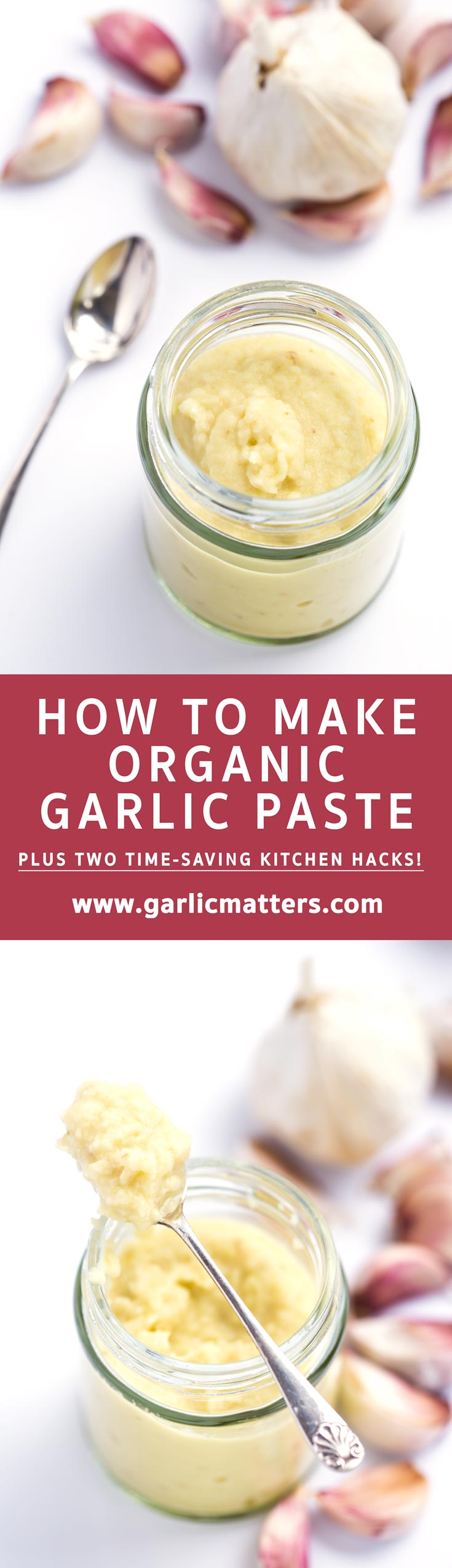 Learn how to make vegan, organic garlic paste at home and how to store it safely.