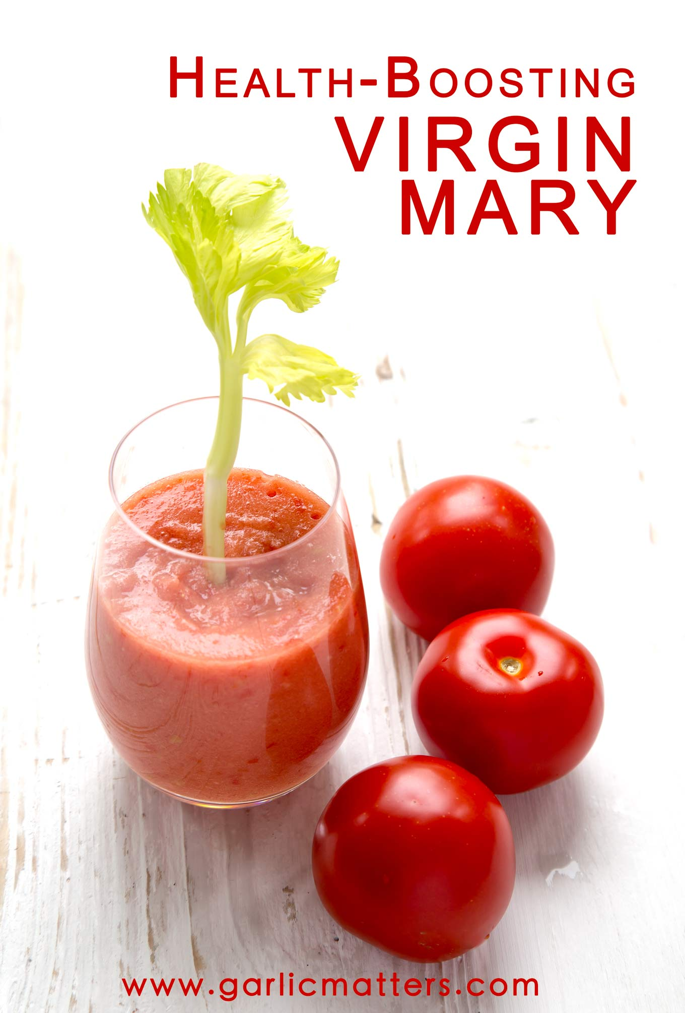 This Health Boosting Virgin Mary (alcohol free) is a great 5 minutes , natural, vegan recipe for anyone suffering from cold and flu symptoms.