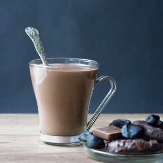 Luxury Black Garlic Hot Chocolate is a delicious, chocolate enhanced experience. Easy, 15 min recipe.