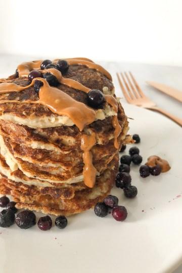 oat protein pancakes