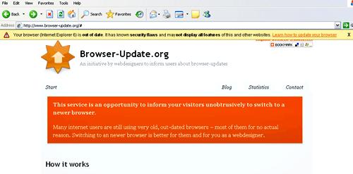 browser update