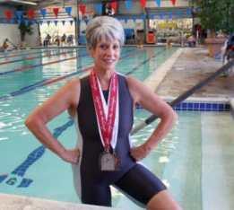 DeEtte Sauer, swimmer