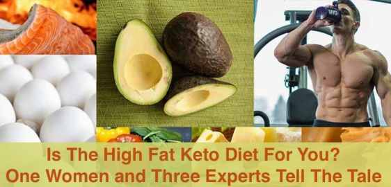 Learn about the high fat keto diet than might be your ticket to fat loss