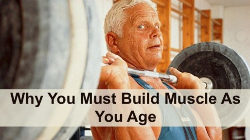 Build muscle as you age