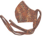 Adult Cloth Face Mask – Leopard