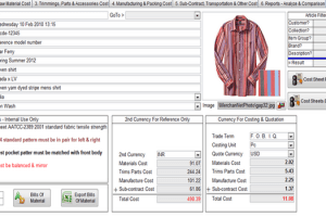 Garments Price Quotation