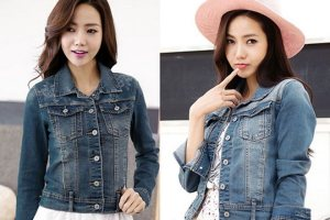 Bleaching Wash denim jacket