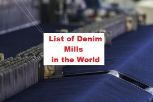 denim mill
