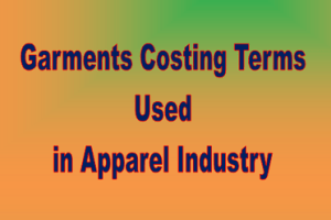 Garments Costing Terms