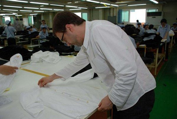 Shirt inspection in apparel industry