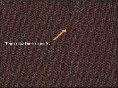 Temple mark