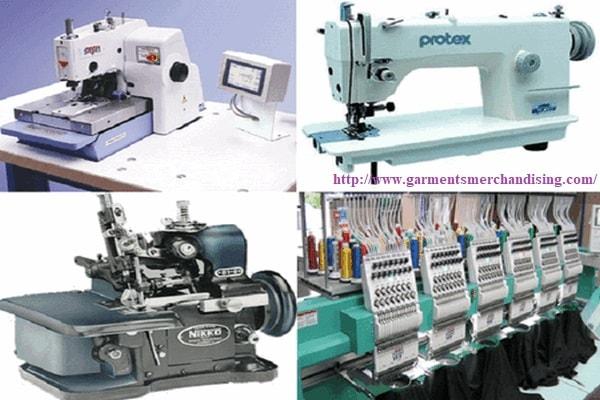 Garment machine used in RMG industry