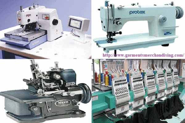 Garment machine used in RMG industry