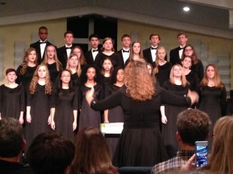 The YMV Concert Choir