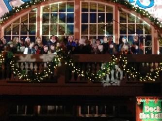 Singing at Das Festhaus