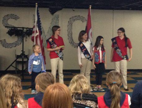 February Birthdays at American Heritage Girls