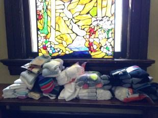 Birthday Socks for St. Columba!