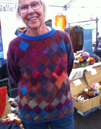 Margarethas smukke november-sweater :-)